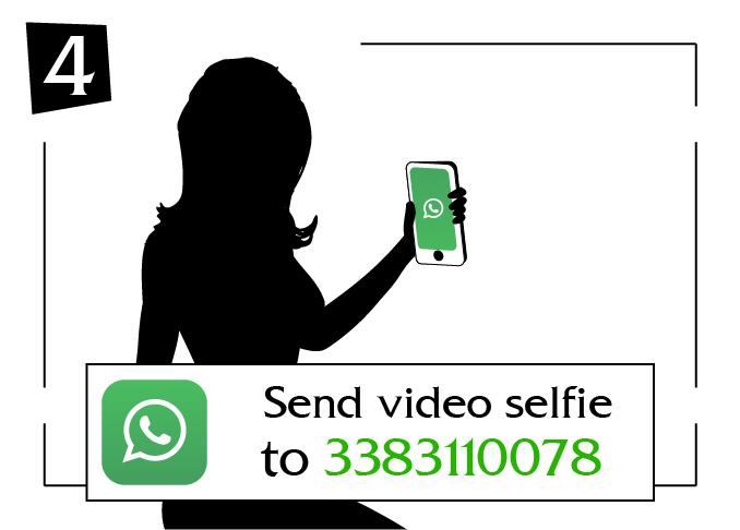 Send video selfie molise to